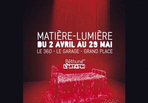 Béthune 2011 Matière lumière